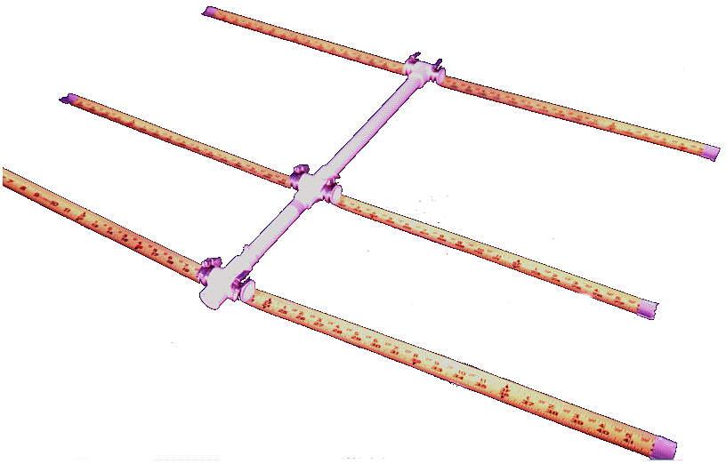 Tape Measure 3 Element Yagi